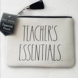 Rae Dunn | TEACHER'S ESSENTIALS pouch